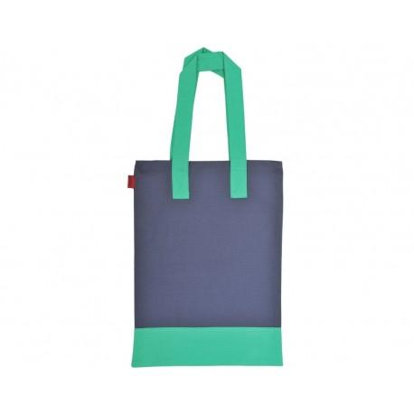 Bolsa paddy Azul y verde
