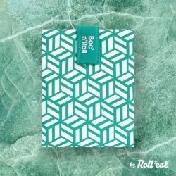Portabocatas tiles de Boc¨n ´roll verde de Roll´eat