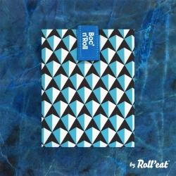 Portabocatas tiles de Boc¨n ´roll azul de Roll´eat