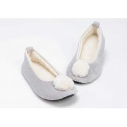 zapatilla bailarina gris
