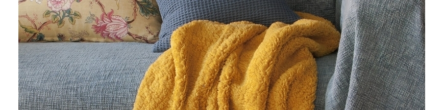Comprar mantas, cojines y zapatillas para el hogar online